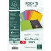 30 Sous-Chemises Exacompta Rock's - 80g - 22x31 cm - couleurs assorties