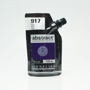 Peinture Acrylique Abstract Sennelier - 120ml - pourpre