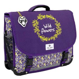 Cartable Scolaire Pol Fox Wild Flowers - 38 cm